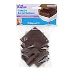 KidKusion® 4-Pack Jumbo Soft Corner Cushion in Brown