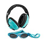 Baby Banz Size 0-2 Years earBanZ Hearing Protection with Sunglasses in Aqua