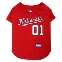MLB Washington Nationals Medium Dog Jersey