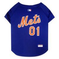 MLB New York Mets X-Small Dog Jersey