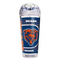 NFL Chicago Bears Double-Wall Acrylic 24 oz. Travel Tumbler