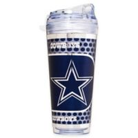 NFL Dallas Cowboys Double-Wall Acrylic 24 oz. Travel Tumbler