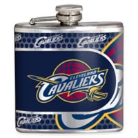 NBA Cleveland Cavaliers Stainless Steel Metallic Hip Flask