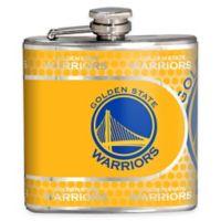 NBA Golden State Warriors Stainless Steel Metallic Hip Flask