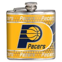 NBA Indiana Pacers Stainless Steel Metallic Hip Flask