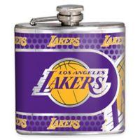 NBA Los Angeles Lakers Stainless Steel Metallic Hip Flask