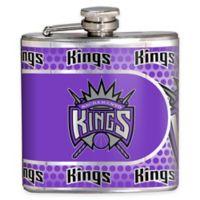 NBA Sacramento Kings Stainless Steel Metallic Hip Flask