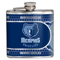 NBA Memphis Grizzlies Stainless Steel Metallic Hip Flask