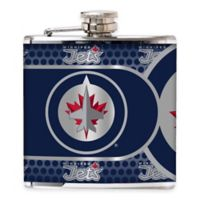 NHL Winnipeg Jets Stainless Steel Metallic Hip Flask