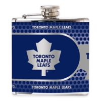 NHL Toronto Maple Leafs Stainless Steel Metallic Hip Flask