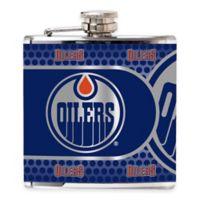 NHL Edmonton Oilers Stainless Steel Metallic Hip Flask