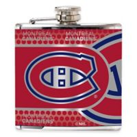 NHL Montreal Canadiens Stainless Steel Metallic Hip Flask