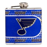 NHL St. Louis Blues Stainless Steel Metallic Hip Flask