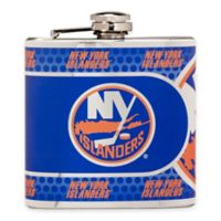 NHL New York Islanders Stainless Steel Metallic Hip Flask