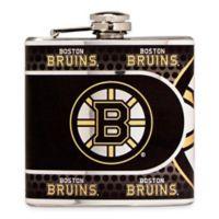 NHL Boston Bruins Stainless Steel Metallic Hip Flask
