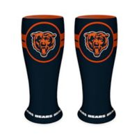 NFL Chicago Bears Ceramic Collectible Mini Pilsner Glass (Set of 2)