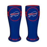NFL Buffalo Bills Ceramic Collectible Mini Pilsner Glass (Set of 2)
