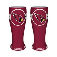 NFL Arizona Cardinals Ceramic Collectible Mini Pilsner Glass (Set of 2)