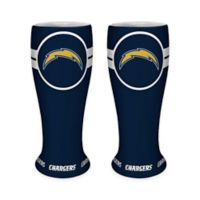 NFL San Diego Chargers Ceramic Collectible Mini Pilsner Glass (Set of 2)