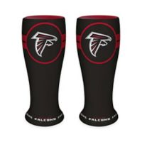 NFL Atlanta Falcons Ceramic Collectible Mini Pilsner Glass (Set of 2)