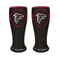 NFL Atlanta Falcons Ceramic Collectible Mini Pilsner Glass (Set of 2)