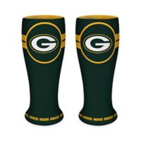 NFL Green Bay Packers Ceramic Collectible Mini Pilsner Glass (Set of 2)