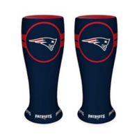 NFL New England Patriots Ceramic Collectible Mini Pilsner Glass (Set of 2)