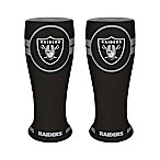 NFL Oakland Raiders Ceramic Collectible Mini Pilsner Glass (Set of 2)