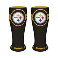 NFL Pittsburgh Steelers Ceramic Collectible Mini Pilsner Glass (Set of 2)