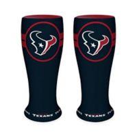 NFL Houston Texans Ceramic Collectible Mini Pilsner Glass (Set of 2)