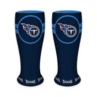 NFL Tennessee Titans Ceramic Collectible Mini Pilsner Glass (Set of 2)