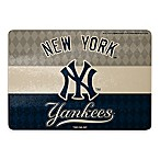 MLB New York Yankees Tempered Glass Cutting Board