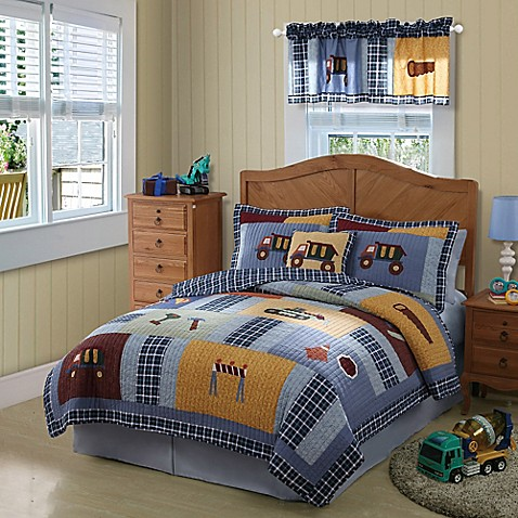 Construction Quilt Set - Bed Bath & Beyond : construction quilt - Adamdwight.com