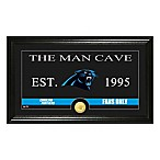 "NFL Carolina Panthers ""Man Cave"" Bronze Coin Panoramic Photo Mint"