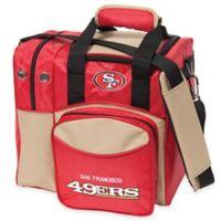 NFL San Francisco 49ers Bowling Ball Tote Bag