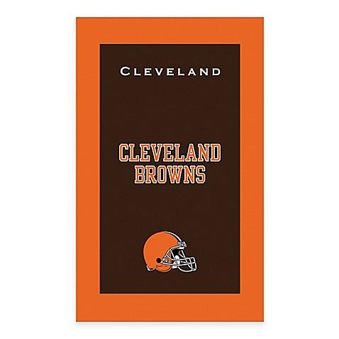 Nfl cleveland browns bowling towel bed bath beyond - Bathroom showroom cleveland ohio ...