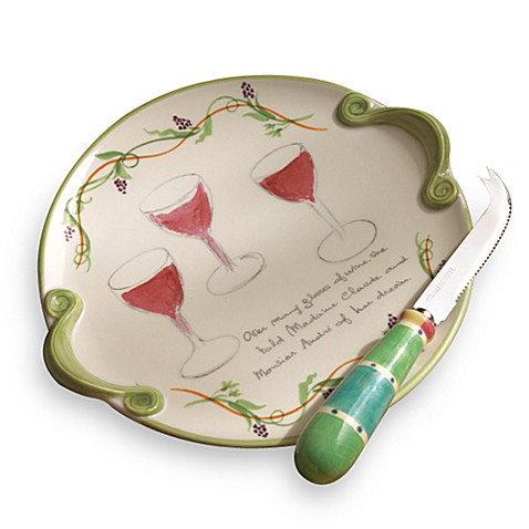 Pistoulet Cheese Plate with Spreader