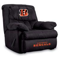 NFL Cincinnati Bengals Microfiber Home Team Recliner