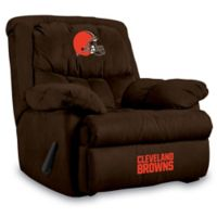 NFL Cleveland Browns Microfiber Home Team Recliner