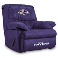 NFL Baltimore Ravens Microfiber Home Team Recliner
