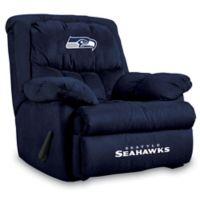 NFL Seattle Seahawks Microfiber Home Team Recliner