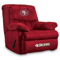 NFL San Francisco 49ers Microfiber Home Team Recliner