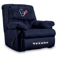 NFL Houston Texans Microfiber Home Team Recliner