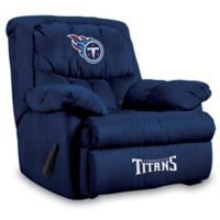 NFL Tennessee Titans Microfiber Home Team Recliner