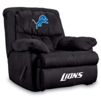 NFL Detroit Lions Microfiber Home Team Recliner