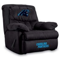 NFL Carolina Panthers Microfiber Home Team Recliner