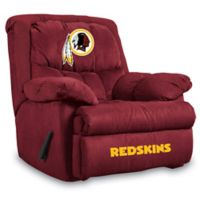 NFL Washington Redskins Microfiber Home Team Recliner