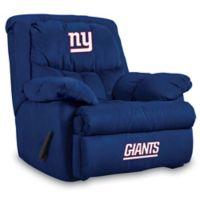 NFL New York Giants Microfiber Home Team Recliner