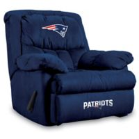 NFL New England Patriots Microfiber Home Team Recliner