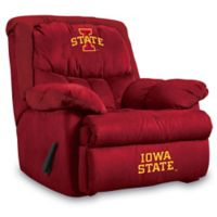 Iowa State University Microfiber Home Team Recliner